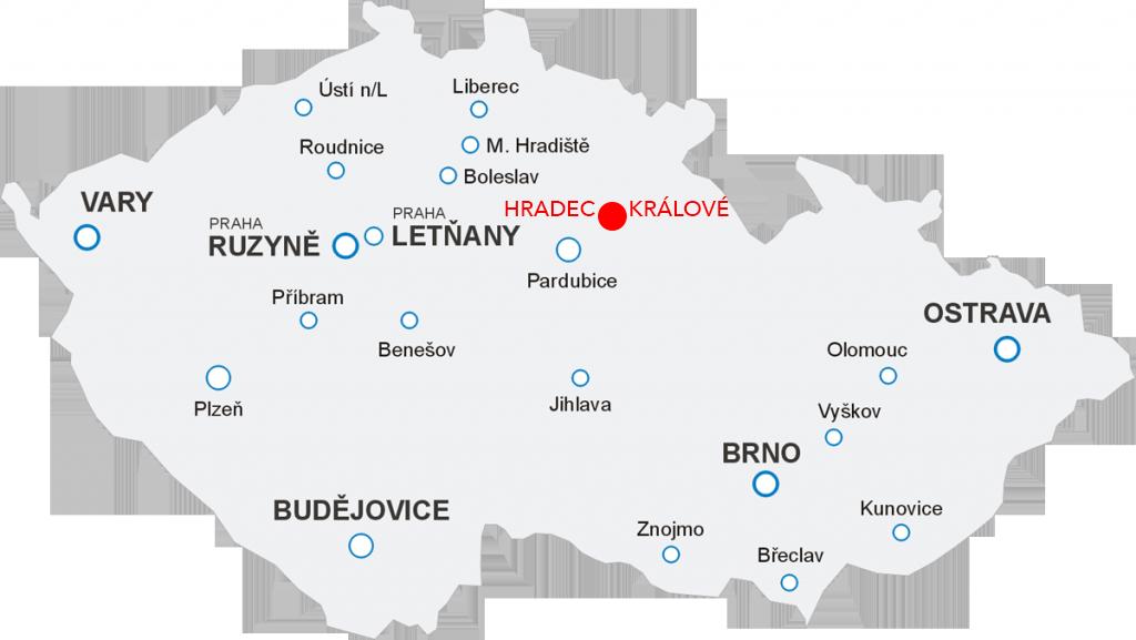Lety Aerotaxi z letiště Hradec Králové